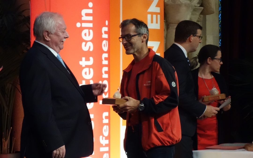 """""""Helfer Wiens Preis 2017"""" für ein Ortsstellenmitglied"""