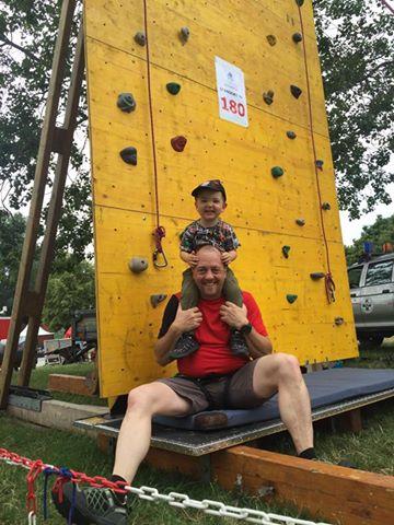 Kostenloses Kinderklettern am Donauinselfest 2018
