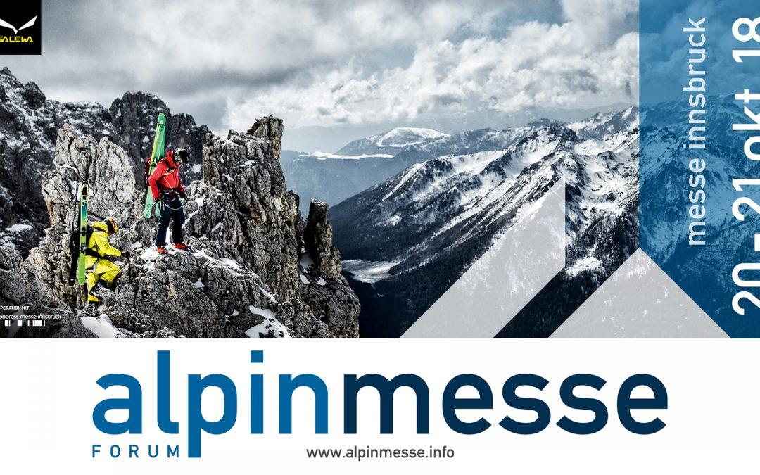 Alles für den Bergsport – Alpinmesse Innsbruck von 20.-21.10.2018