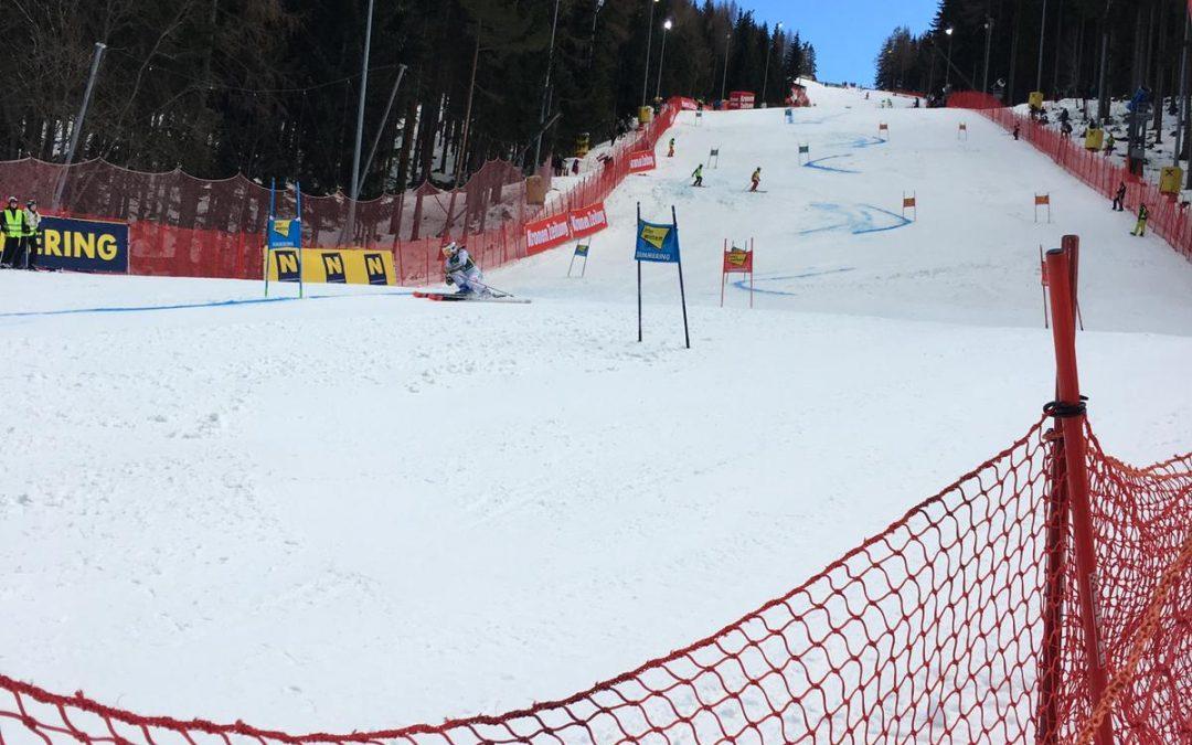 Dienst beim Ski Weltcup Semmering 2018