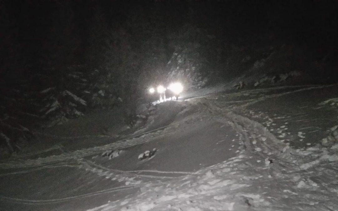 Winterlicher Einsatz am Schneeberg zu den Feiertagen
