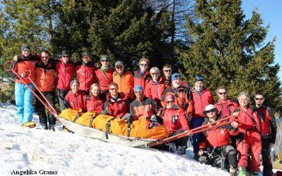 Zweitägige Winterübung am Schneeberg