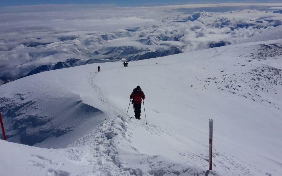 Gipfelbesteigung des Mt. Elbrus (5642 Hm)
