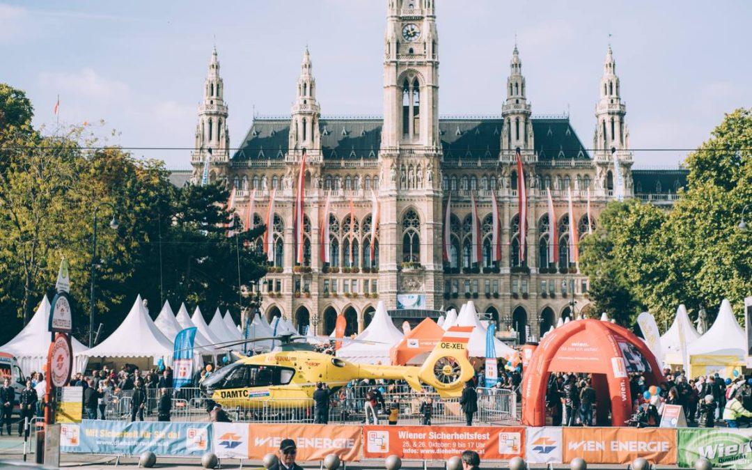 Wir sind mit dabei am Wiener Sicherheitsfest 2018