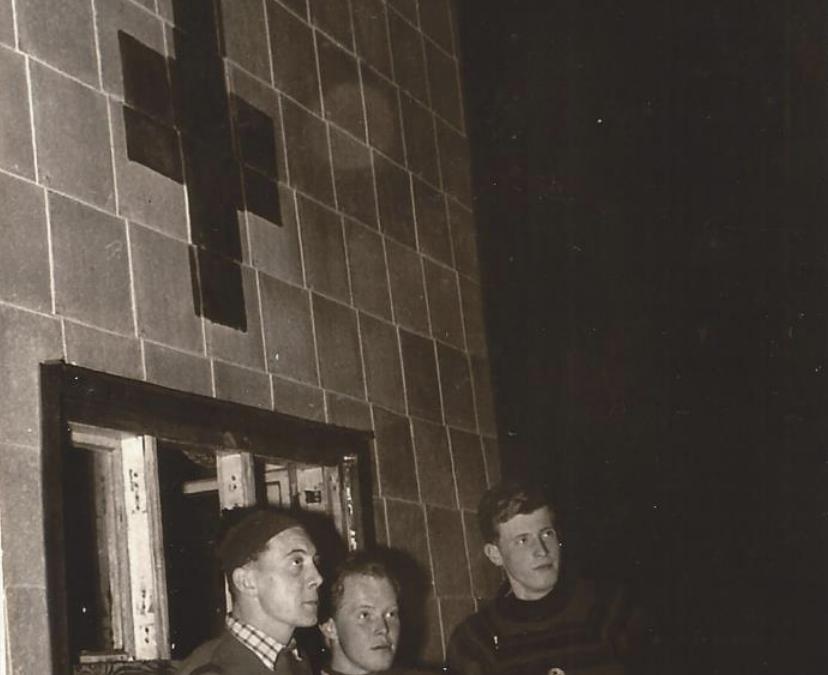Weihnachtsdienst am 24. 12. 1955
