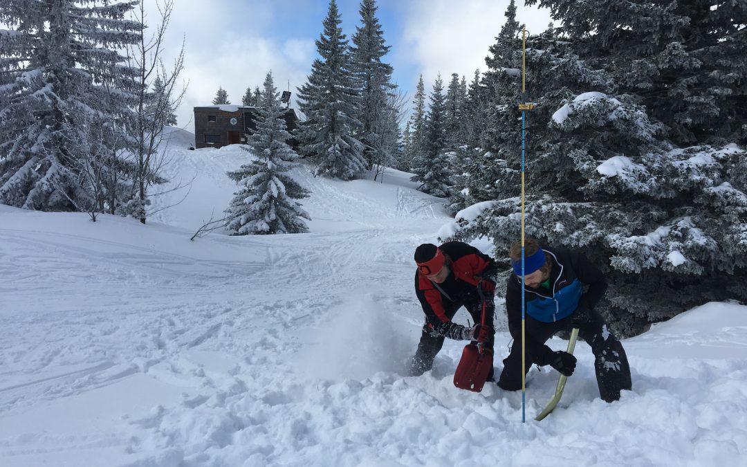 Dienstwochenende am Schneeberg