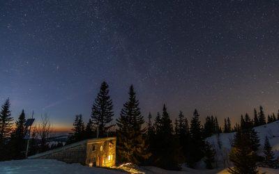 Sternennacht am Schneeberg